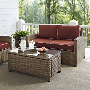 Dardel 2 Piece Sofa Set with Cushions