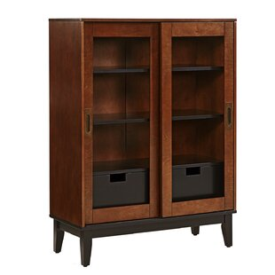 Zhang 2 Drawers Display Accent Cabinet by Holly & Martin