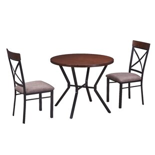 Cosmo 3 Piece Breakfast Nook Dining Set