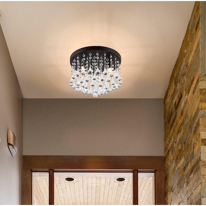 Willa arlo interiors kora 3 light flush mount reviews wayfair kora 3 light flush mount aloadofball Image collections