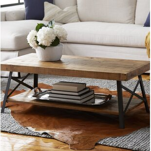 Leather Tufted Coffee Table Wayfair