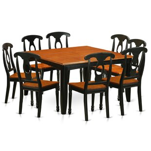 Pilning Modern 9 Piece Dining Set August Grove