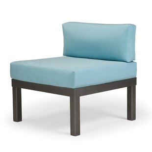Ashbee Sectional Armless Patio Chair with Cushions