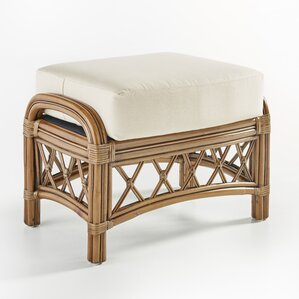 Nadine Ariel Sunset Ottoman by South Sea Rattan