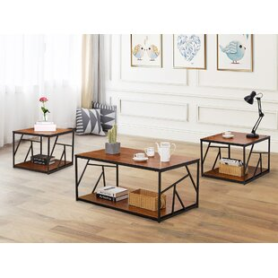 Middleborough 3 Pieces Coffee Table Set