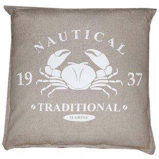 Vintage House Nautical Marine Cotton Floor Pillow