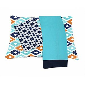 Liam Aztec 3 Piece Toddler Bedding Set