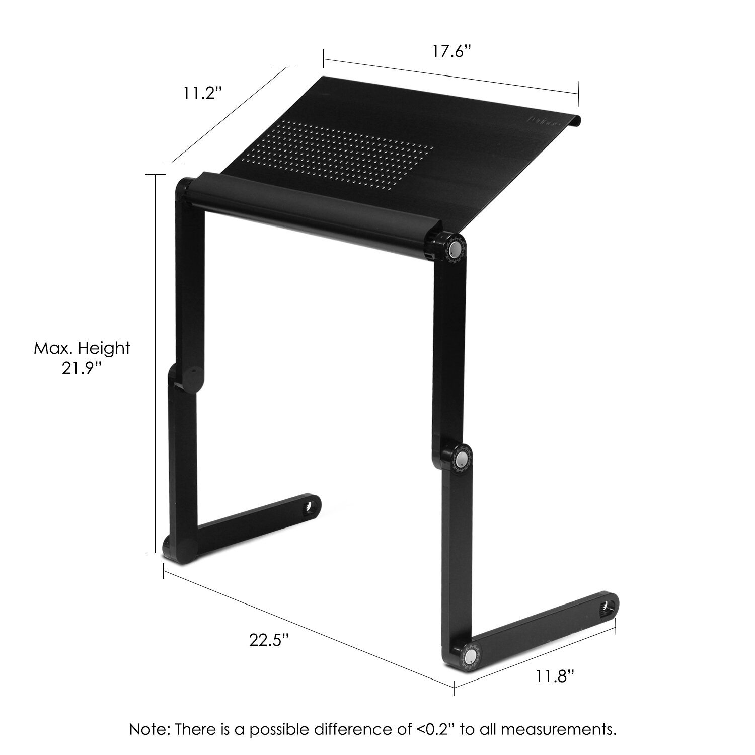Wildon Home ® Vented Laptop Table / Portable Bed Tray Book Stand U0026 Reviews  | Wayfair