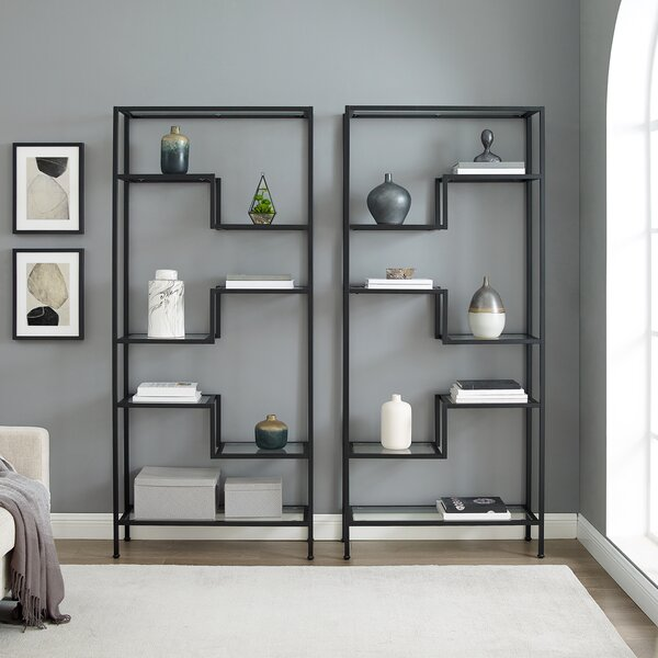 Latitude Run Lavella Etagere Bookcase Reviews Wayfair
