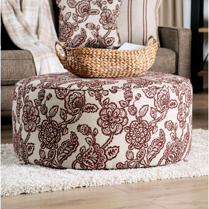 Astonishing Wolters Round Cocktail Ottoman Pabps2019 Chair Design Images Pabps2019Com
