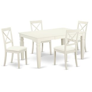 Septimus 5 Piece Solid Wood Dining Set