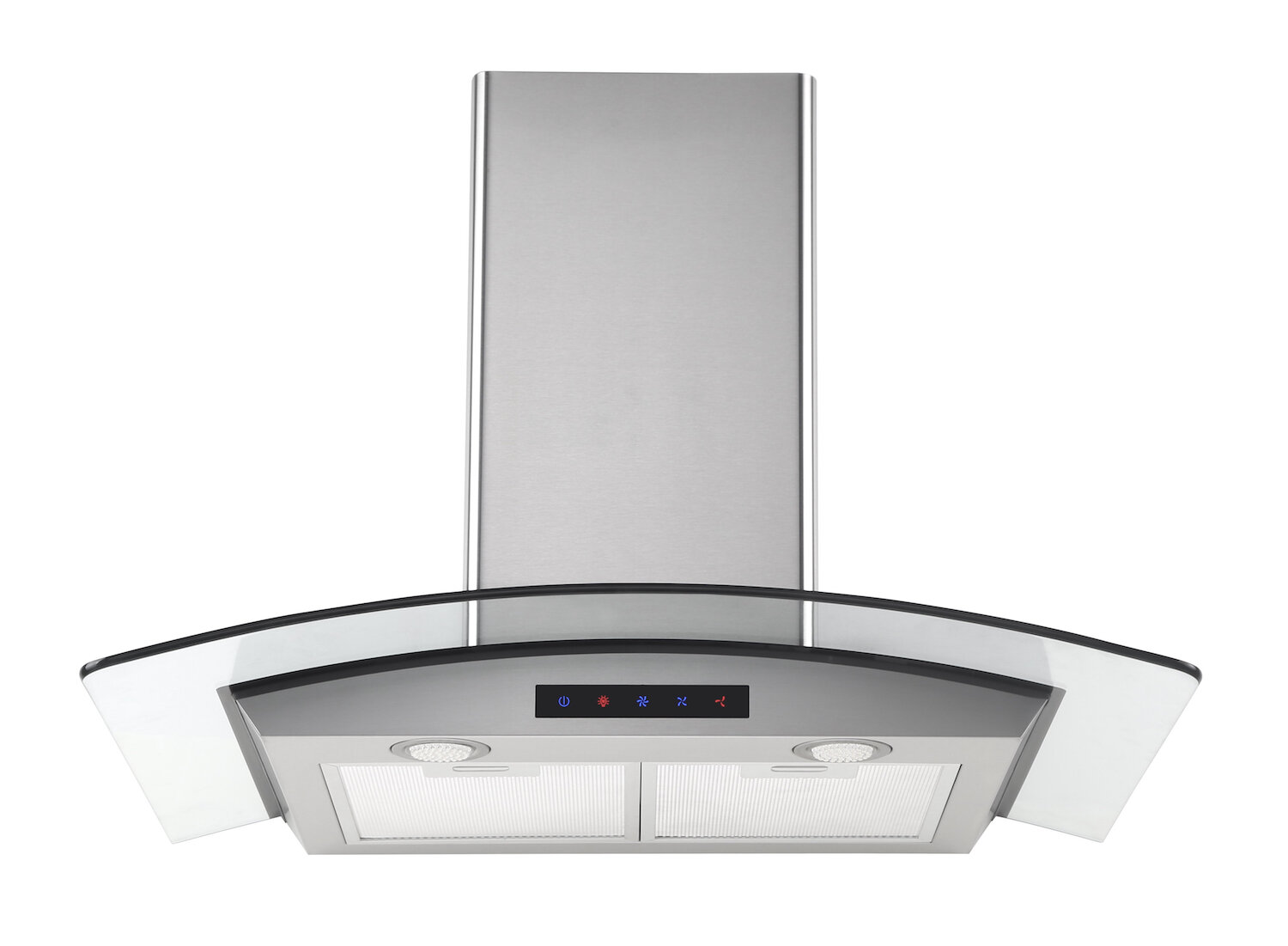 Range Hoods Product ~ Spagna vetro inch sp island mounted stainless steel range hood