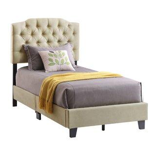 Beringen Upholstered Panel Bed