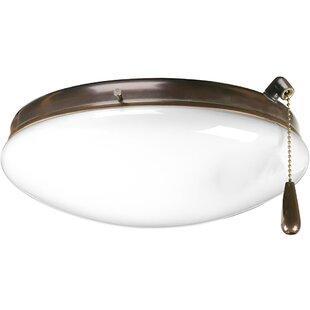 Globe ceiling fan light kits youll love wayfair save aloadofball Gallery