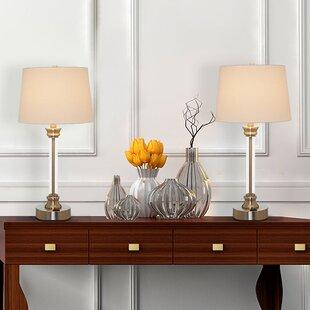 Ethan Acrylic 25 Table Lamp (Set of 2)
