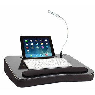 Masuma Sofia Sam 193 Lap Desk with USB Light by Winston Porter