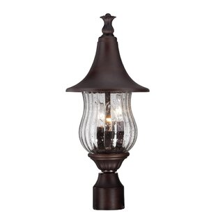 Affordable Price Berriman Outdoor 3-Light Lantern Head By Fleur De Lis Living