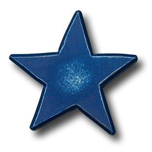 Handpainted Star Novelty knob