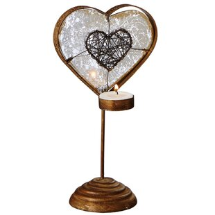 Heart Candlestick (Set of 2)