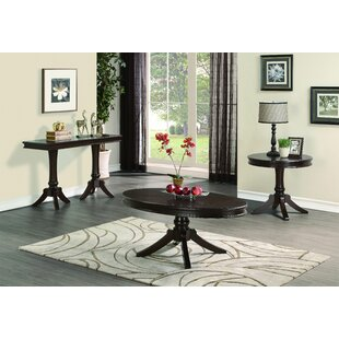 Ericka 3 Piece Coffee Table Set