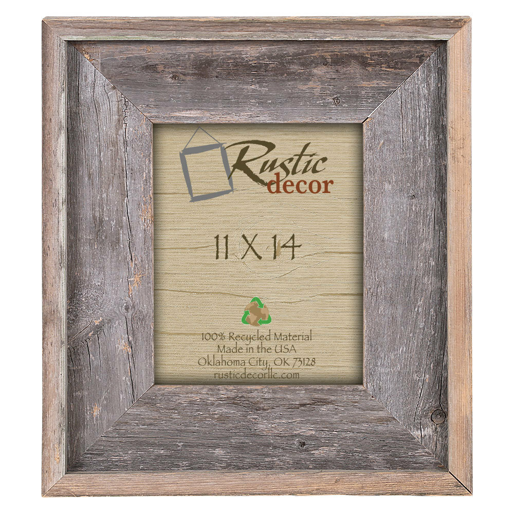 Rusticdecor Rustic Reclaimed Barn Wood Wall Picture Frame Reviews