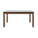 Haings Rubberwood Solid Wood Dining Table by Andover Mills™