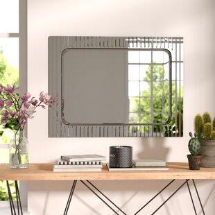 Shop For V-Groove Wall Mirror ByBrayden Studio