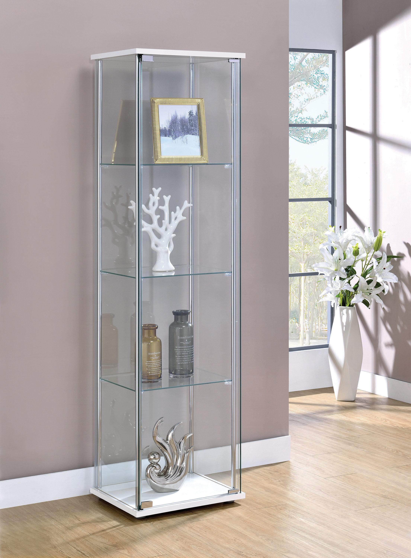 Glass Orren Ellis Display China Cabinets You Ll Love In 2021 Wayfair