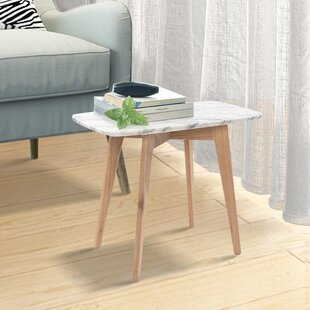 White Stained Side Table Wayfair