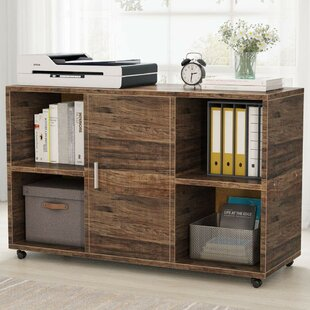 Griego Mobile Lateral Filing Cabinet by Latitude Run Comparison