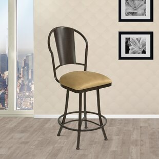Knorr Swivel Bar Stool Winston Porter