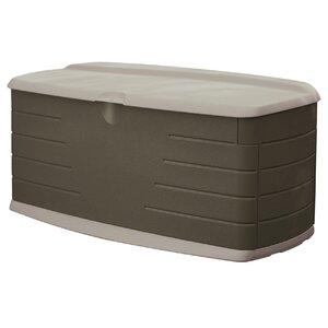 90 Gallon Resin Deck Box