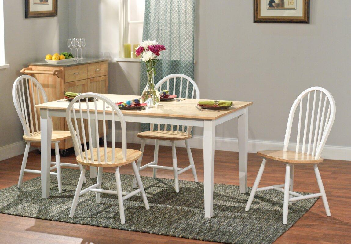 TMS Windsor 5 Piece Dining Set & Reviews | Wayfair