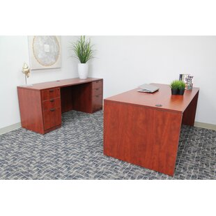 Fabiano 4 Piece Desk Office Suite