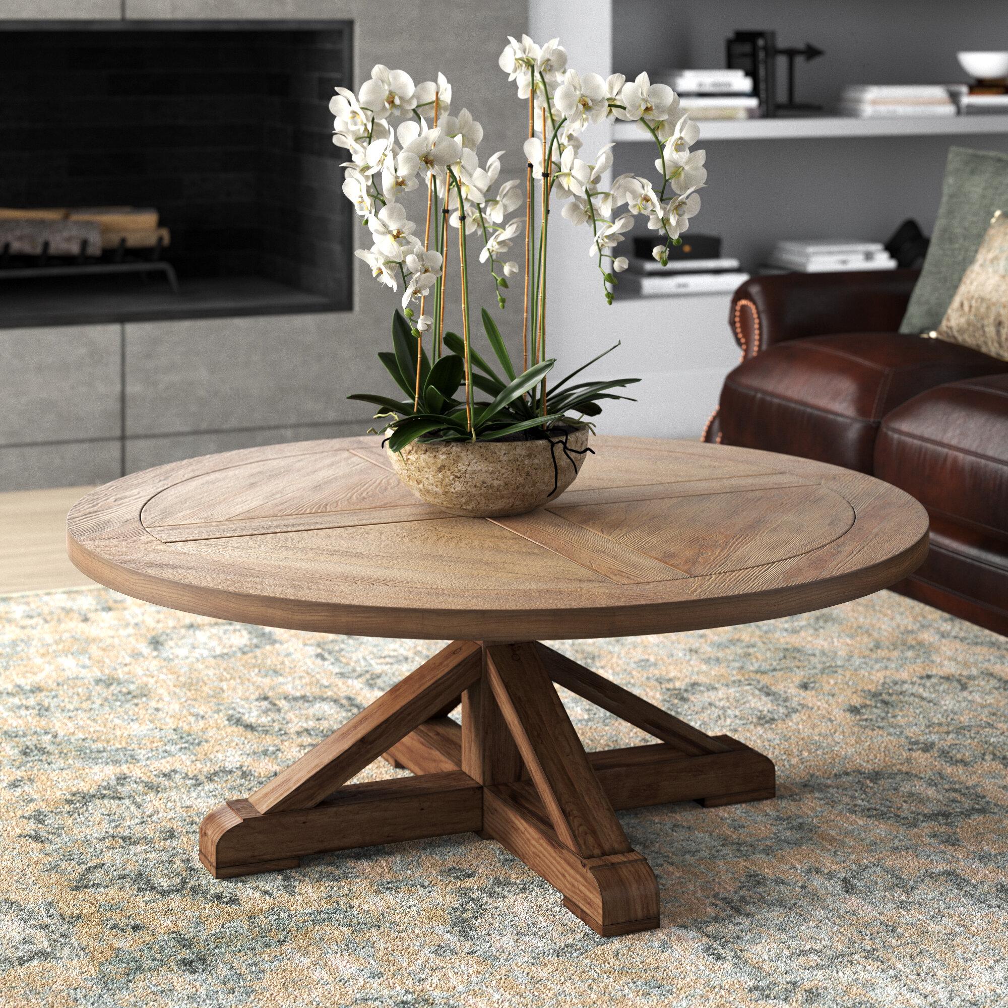 Greyleigh Burlington Pedestal Coffee Table Reviews