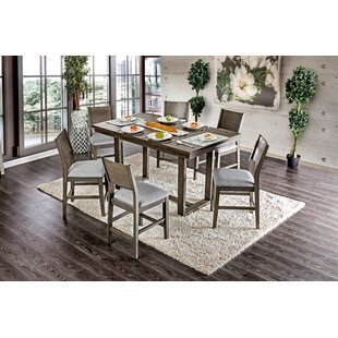 Beau Andy 7 Piece Counter Height Dining Set