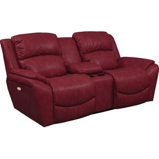 Barrett Leather Reclining Loveseat