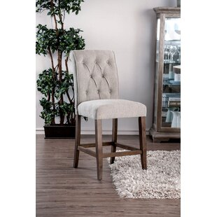 Liddel Fabric Upholstered Dining Chair (Set of 2)