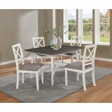 Grandmasters 5 Piece Dining Set by Rosecliff Heights