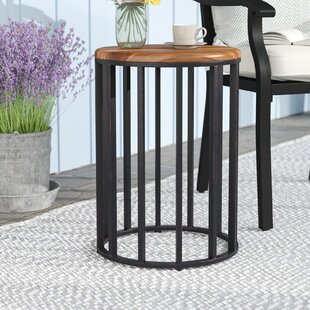 Cabo Solid Wood Side Table by Gracie Oaks