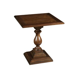Stern Pedestal End Table