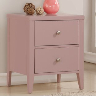 Howlett 2 Drawer Nightstand by Highland Dunes