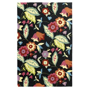 Samantha Black Indoor/Outdoor Area Rug