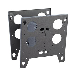 Large Dual Tilt Ceiling Mount for Flat Panel Screens