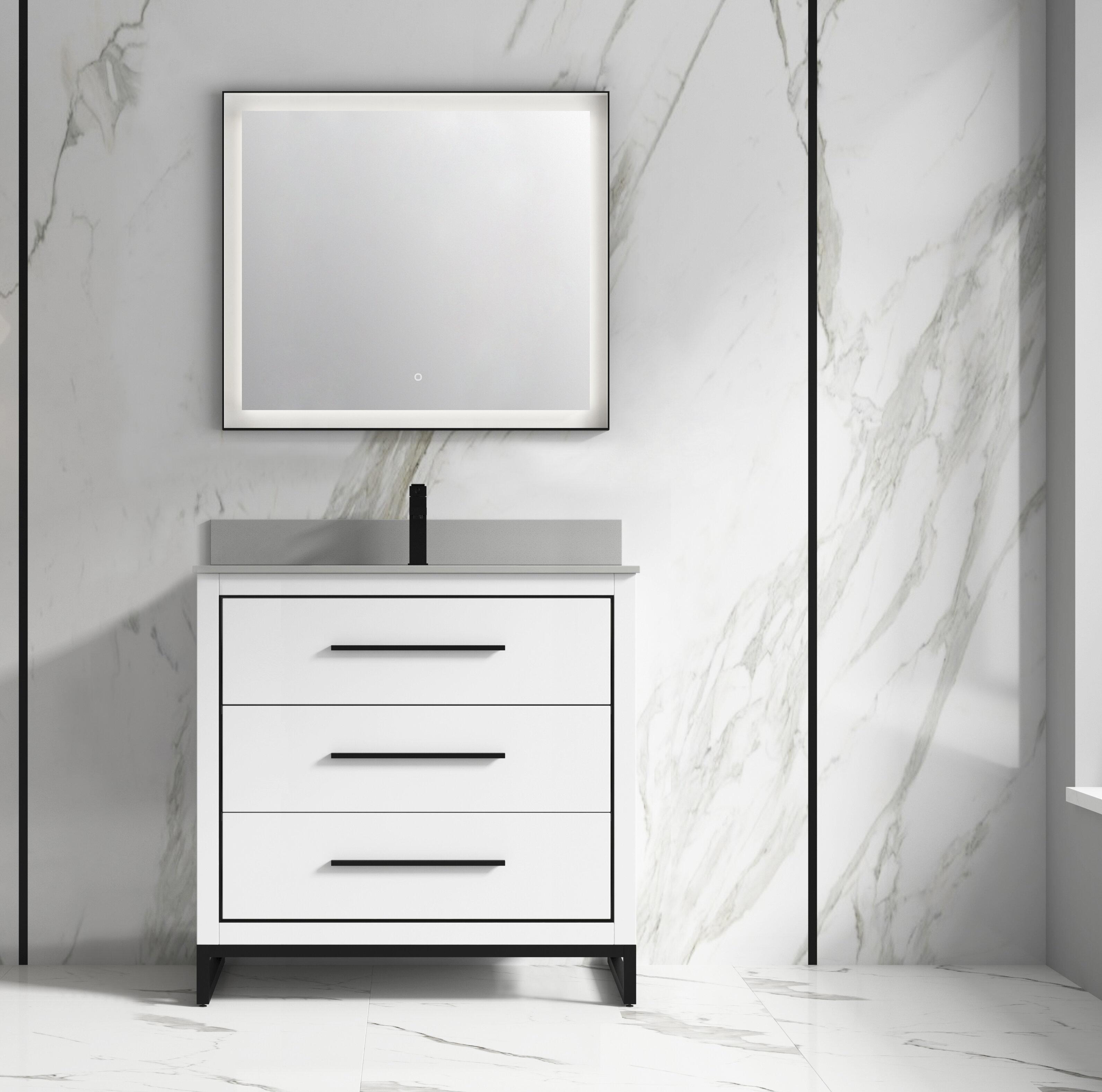 Orren Ellis Rappoli 36 Single Bathroom Vanity Set Wayfair