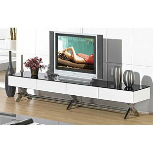 Shop For Miles TV Stand for TVs up to 78 by Wade Logan Reviews (2019) & Buyer's Guide