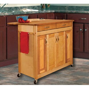 Kitchen Island with Wood Top Catskill Craftsmen, Inc.