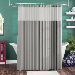cloth shower curtains that don t need liners Shower Curtain With Snap Liner | Wayfair cloth shower curtains that don t need liners