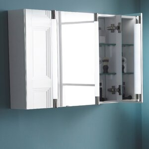 80 cm x 80 cm Spiegelschrank mit Beleuchtung von..