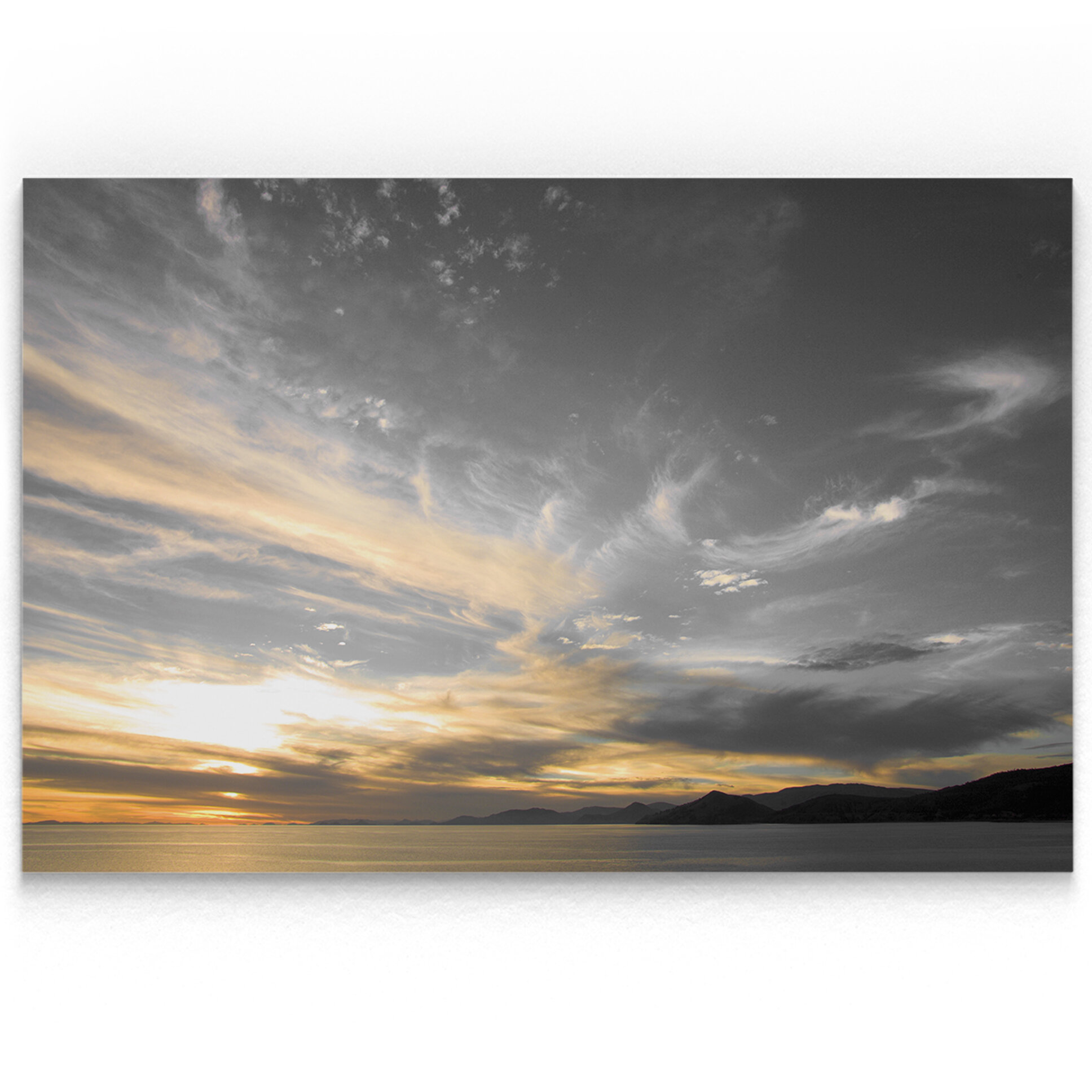 Latitude Run Sky Above Photographic Print On Wrapped Canvas Reviews Wayfair